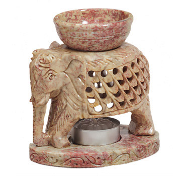 Intricate Elephant Diffuser