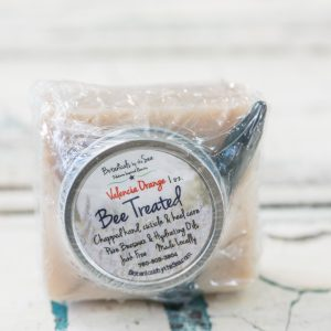 Bee Treated Bee Balm & Foot Scrub Soap