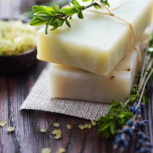 100% Handmade Pure Oil Soaps