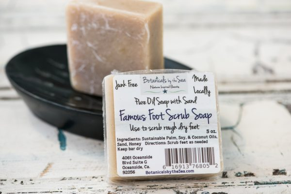 Famous Foot Scrub Soap