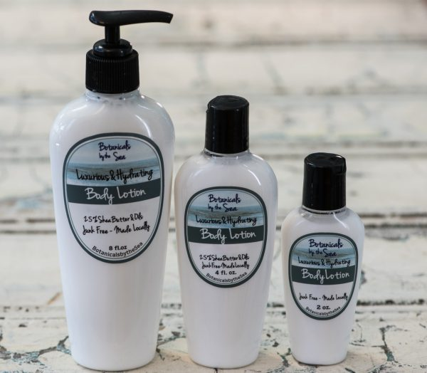 Body Lotion - 25% Shea Butter & Oils  Sale on Select Scents of 4 and 8 oz.